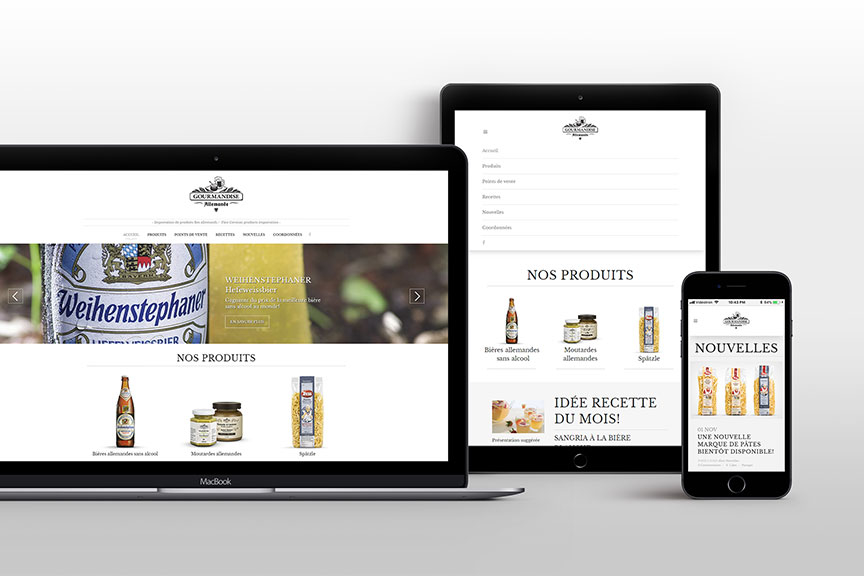 Gourmandise Allemande – Catalogue