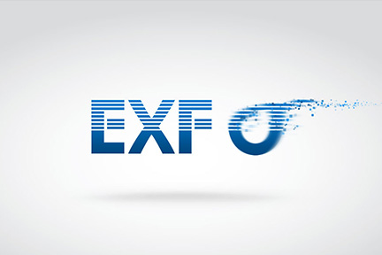 Exfo – Flying logo