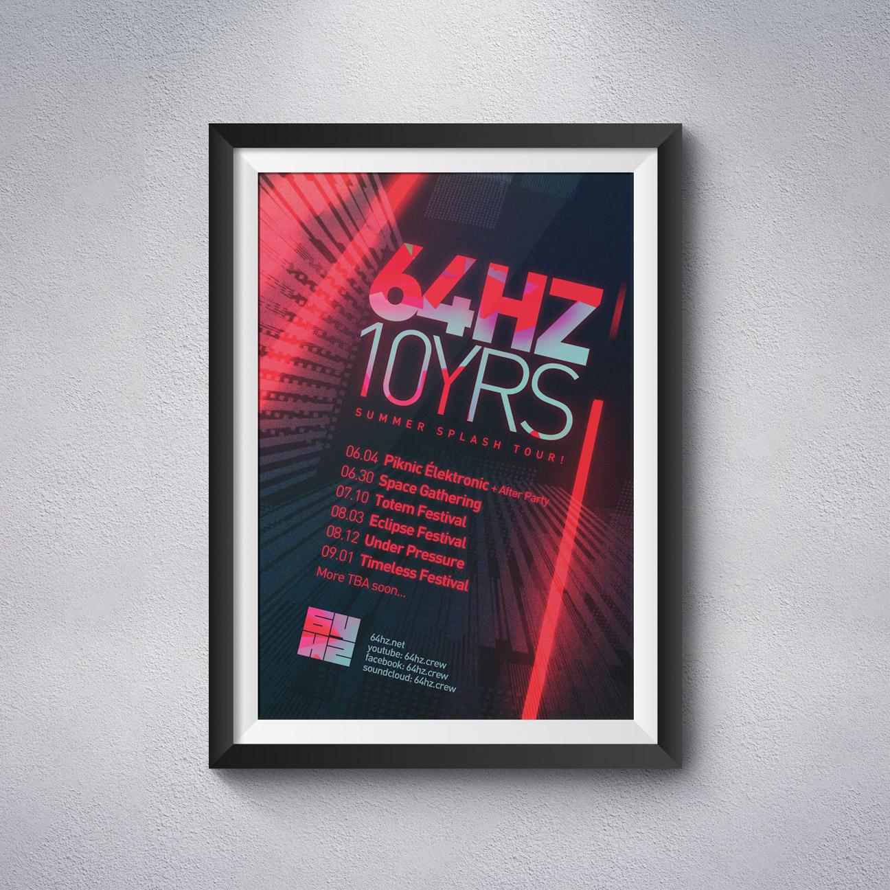64hz-10ans-poster