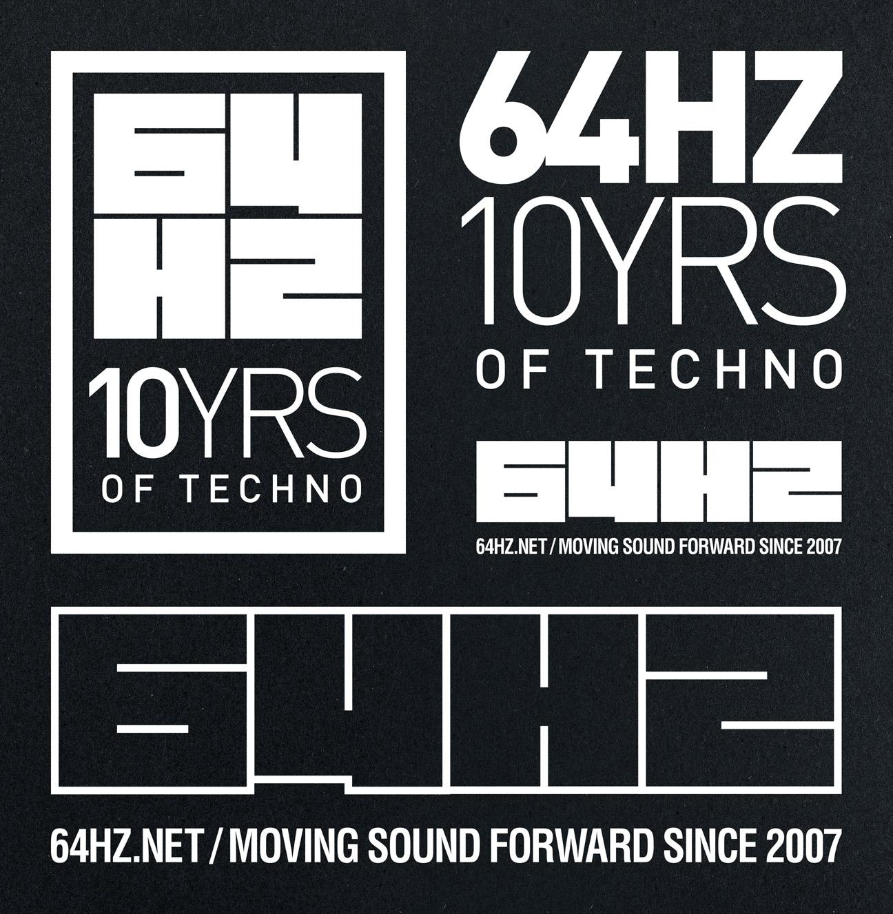 64hz-10ans-logos
